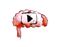 icone play cerveau