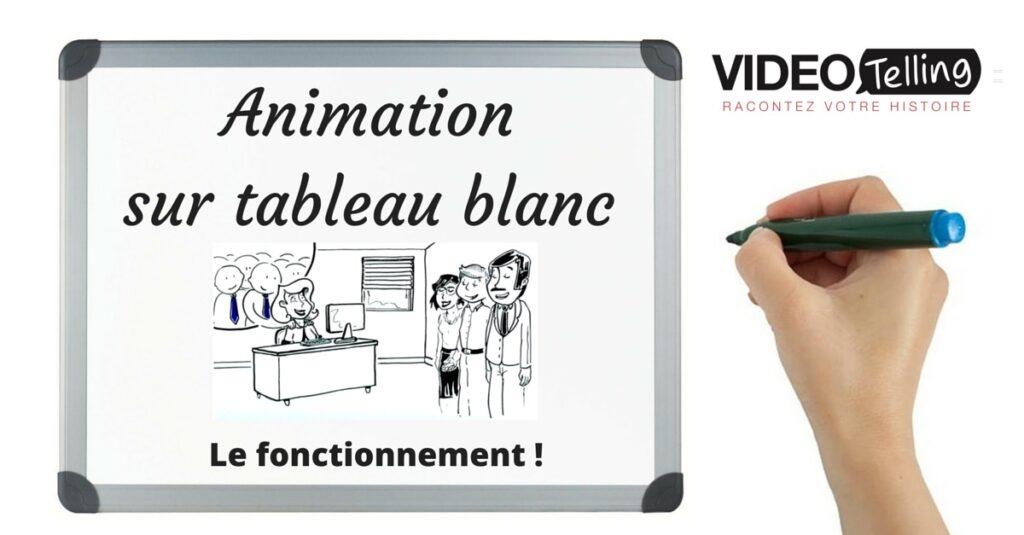 animation sur tableau blanc