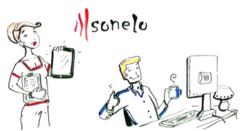 sonelo whiteboard animation