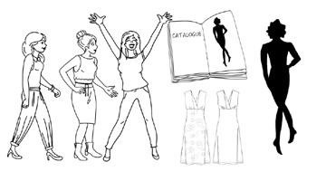 Habillez-Moi - Gamme de vêtements pour femmes