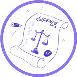 option licence et droits