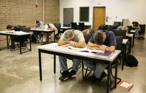 classe endormi