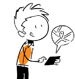 personnage whiteboard animation