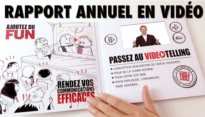 Rapport annuel en Vidéo