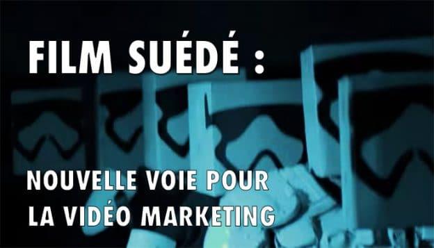 film suédé : nouvelle type de vidéo marketing