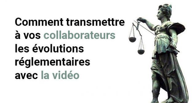 évolution réglementaire vidéo image