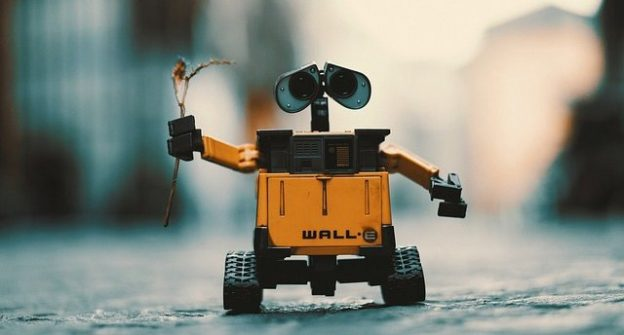 chatbot videotelling wall-e