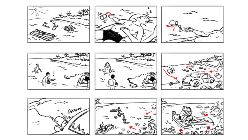 Thétys Viot Storyboardeuse