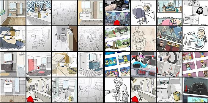 Aurélien Carruesco Illustration Digital VideoTelling