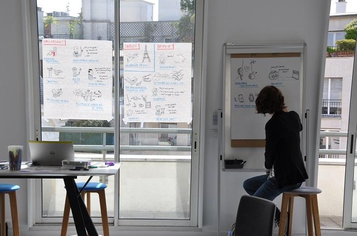 Marie-Lys Errard Facilitateur Graphique VideoTelling