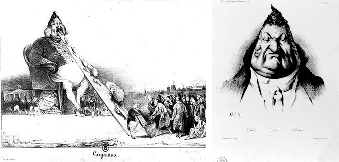 Gargantua Caricature Daumier Philippe 1er