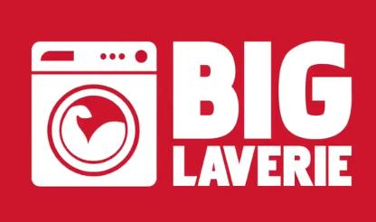 biglaverie logo rouge blanc