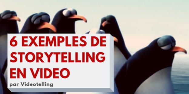 6 exemples de storytelling vidéo