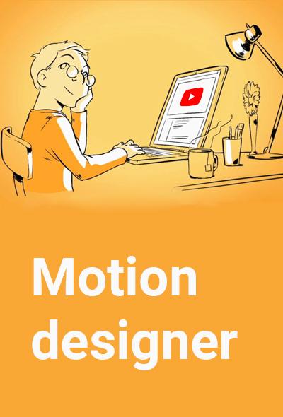 motion designer videotelling
