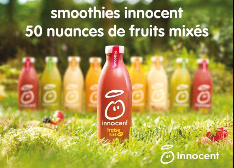 publicité innocent smoothie
